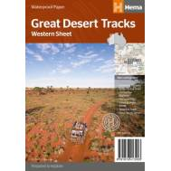 Great Desert Tracks of Australia Western Sheet - 4WD