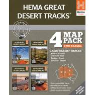 Hema's Great Desert Tracks Map Pack