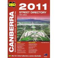 Canberra Street Directory 2011 15th Edition