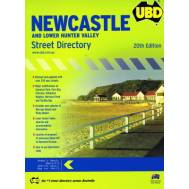 Newcastle and Lower Hunter Valley Street Directory 20th Edition