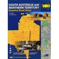South Australia & Northern Territory Country Road Atlas 7th Ed