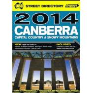 Canberra, Capital Country & Snowy Mountains Street Directory 2014