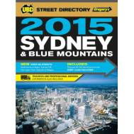 Sydney & Blue Mountains 2015 Street Directory