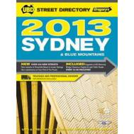 Sydney & Blue Mountains 2013 Street Directory