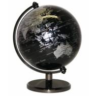 Heritage Black Ocean Mini Globe