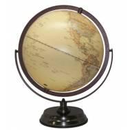 Heritage Embossed Antique Ocean World Globe