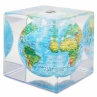 MOVA Cube Blue Relief Globe