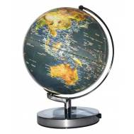 Heritage Dark Blue 25cm LED World Globe MS-211LM-P LED