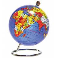 Desktop World Globe - Blue 20cm