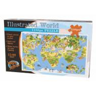 Illustrated World Puzzle 1100pc