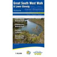 Great South West Walk Lower Glenelg and Discovery Bay Map