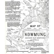 Miles Dunphy Sketch Map of Kowmung