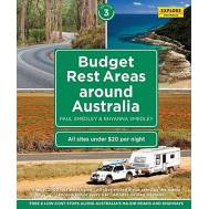 Budget Rest Areas around Australia (spiral bound)
