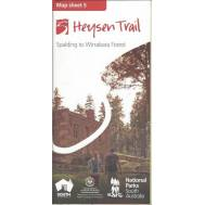 Heysen Trail Map Sheet 5 - Spalding to Wirrabara Forest