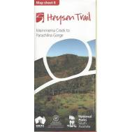 Heysen Trail Map Sheet 8 - Mernmerna to Parachilna