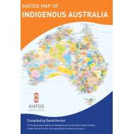 Aboriginal (Indigenous) Australia Wall Map (A3)