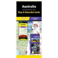 Australia Adventure Set, Map and Naturalist Guide