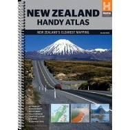 New Zealand Handy Atlas Spiral