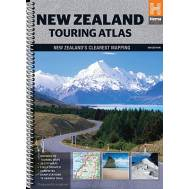 New Zealand Touring Atlas Spiral