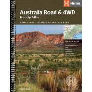 Australia Road & 4WD Handy Atlas Spiral