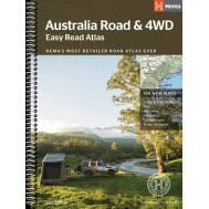 Australia Road & 4WD Easy Read Atlas