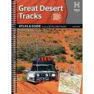 Australia's Great Desert Tracks Atlas & Guide