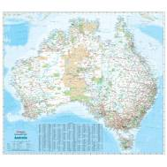 Australia Reference Map Large