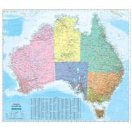 Australia Political Reference Map