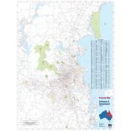Brisbane and Queensland Postcode Map