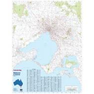 Melbourne and Victoria Postcode Map