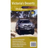 Victoria's Deserts - 4WD Map