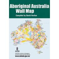 Aboriginal Australia Wall Map (Lge)