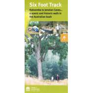 Six Foot Track Map - Bushwalking