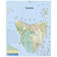 Tasmania Wall Map