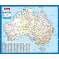 Ausway Australia Wall Map