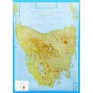 Tasmania 4 Sheet Wall Map