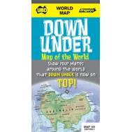 Down Under Map of the World (folded) 161