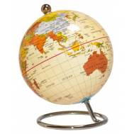 Desktop World Globe - Antique 10cm