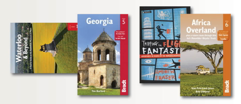 A new range of Travel Guide Books